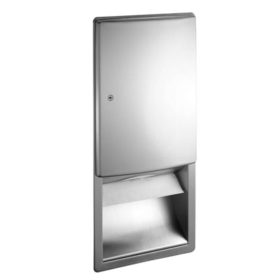 Asi Roval Recessed Mounted Paper Towel Dispenser New Zealand S Leading Bathroom Products