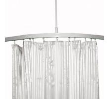 shower curtain tracks rails new